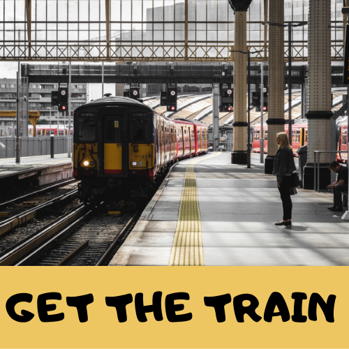 get the train