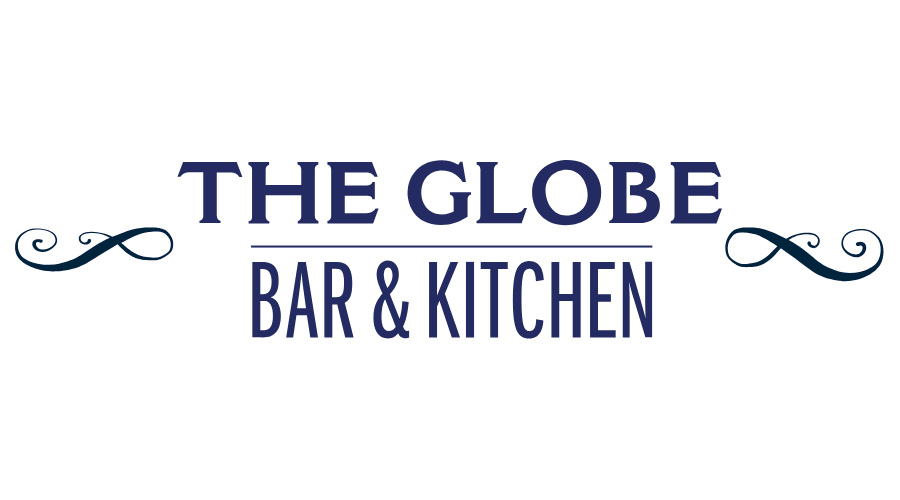 the globe bar kitchen vector logo